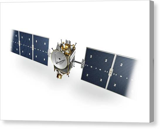 Sun Belt Canvas Print - Dawn Spacecraft by Carlos Clarivan