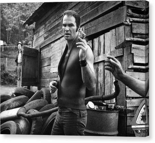 Burt Reynolds Canvas Print - Deliverance  by Silver Screen