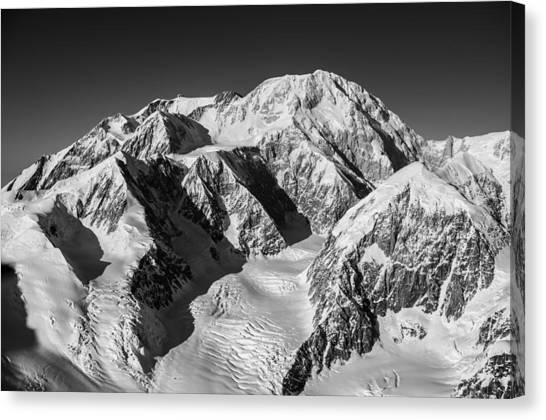 Mountain West Canvas Print - Denali - Mount Mckinley by Alasdair Turner