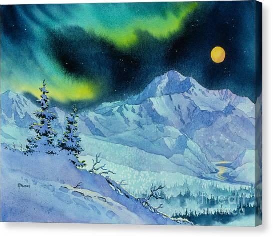Denali Night Canvas Print