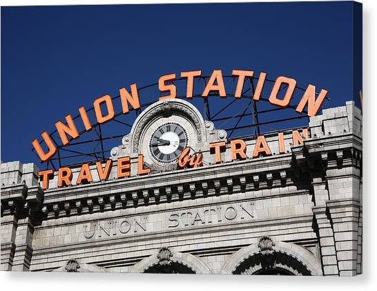 Denver - Union Station Canvas Print