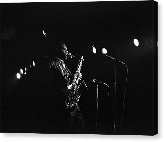 Dewey Redman Canvas Print