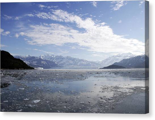 Distant Glacier Canvas Print