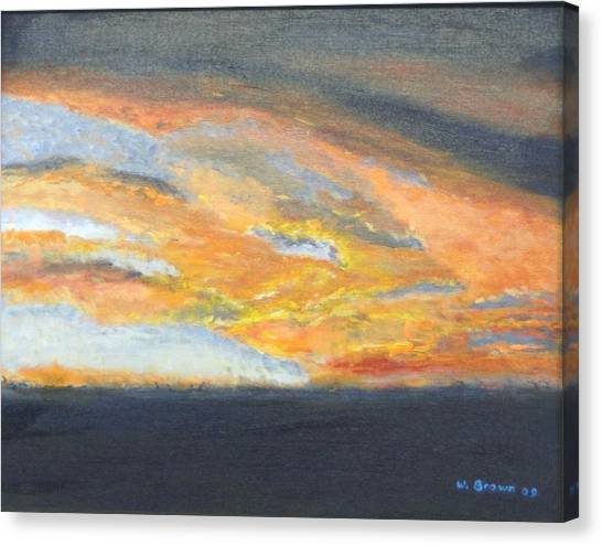 Dixie Sunrise Canvas Print