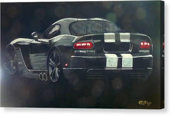 Dodge Viper 2 Canvas Print