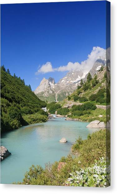 Dora Stream. Veny Valley Canvas Print