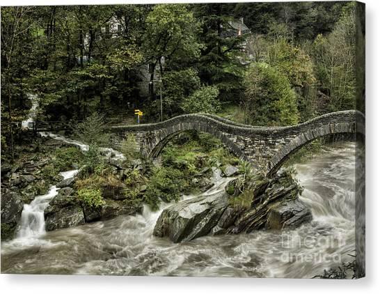 Mats Silvan 105 Ticino River Canvas Print