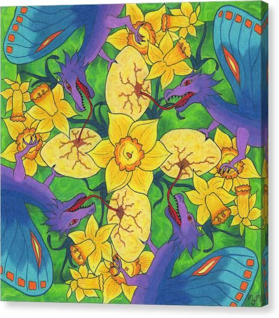 Dragondala Spring Canvas Print