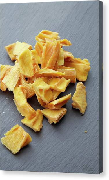Mangos Canvas Print - Dried Mango by Claudia Dulak / Science Photo Library