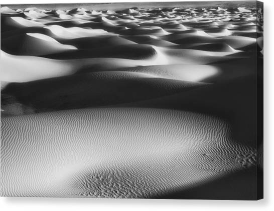 Dunes Death Valley Canvas Print
