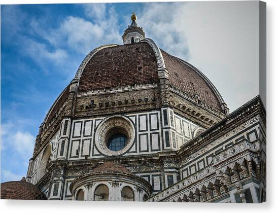 Monument Canvas Print - Duomo Basilica Cathedral Church In Florence Italy by Brandon Bourdages