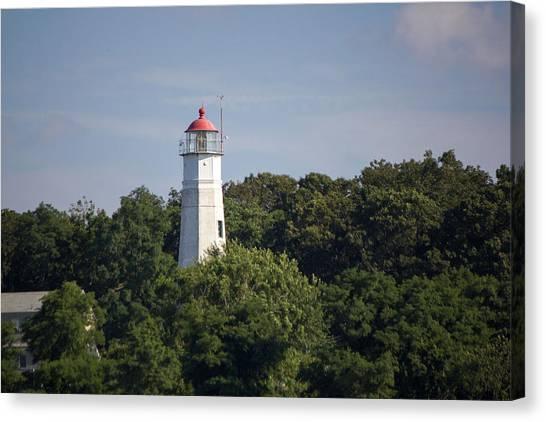 Eatons Neck Lighthouse Canvas Print