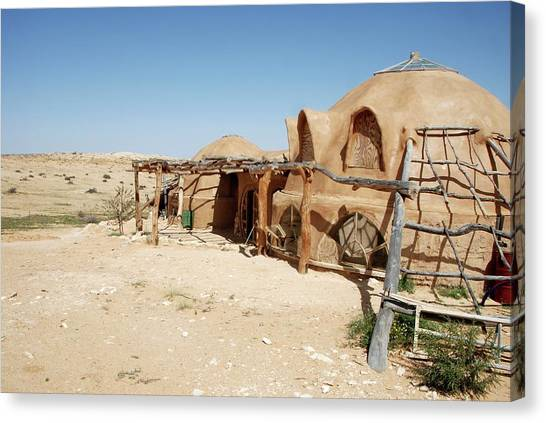 Negev Desert Canvas Print - Ecological Village by Photostock-israel/science Photo Library