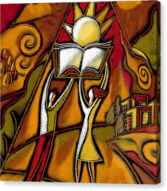 Academic Art Canvas Print - Education by Leon Zernitsky