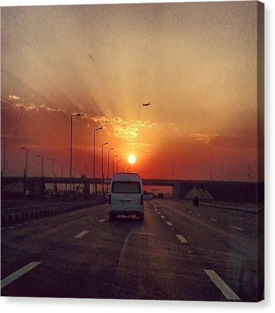 Toyota Canvas Print - #egypt by Mohamed Elkhamisy