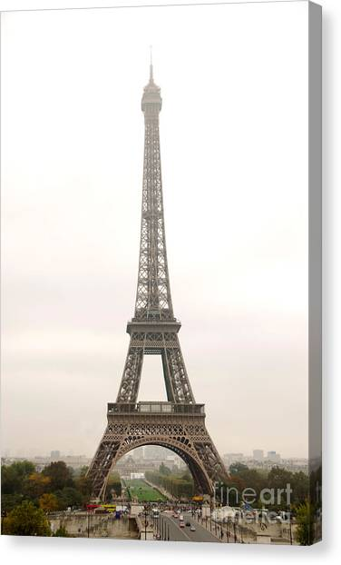 Paris Canvas Print - Eiffel Tower by Elena Elisseeva