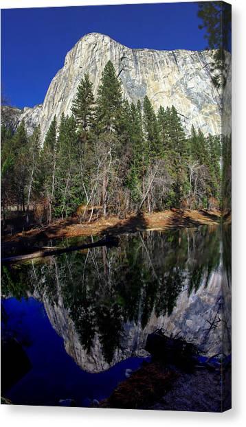 El Capitan Canvas Print - El Capitan Reflection by Scott McGuire