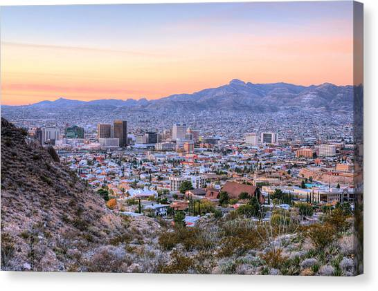 El Paso Canvas Print by JC Findley