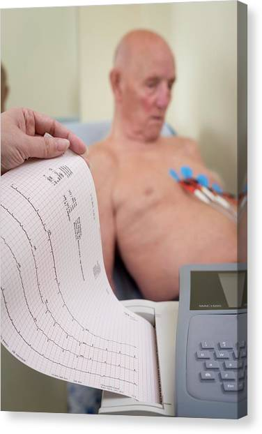 Sunderland Canvas Print - Electrocardiography Test by Aberration Films Ltd