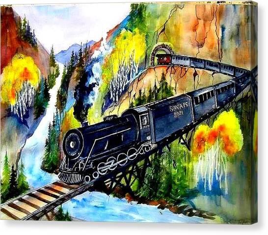 Engine No. 2921 Canvas Print