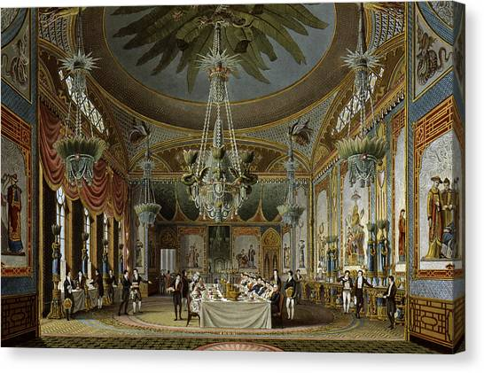 Carousel Collection Canvas Print - England Brighton Pavilion by Granger