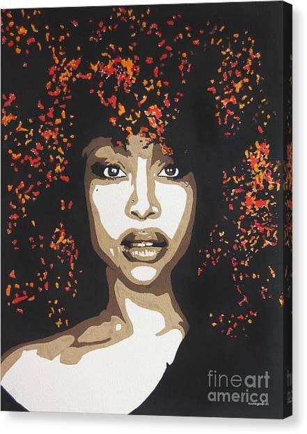 Erykah Canvas Print