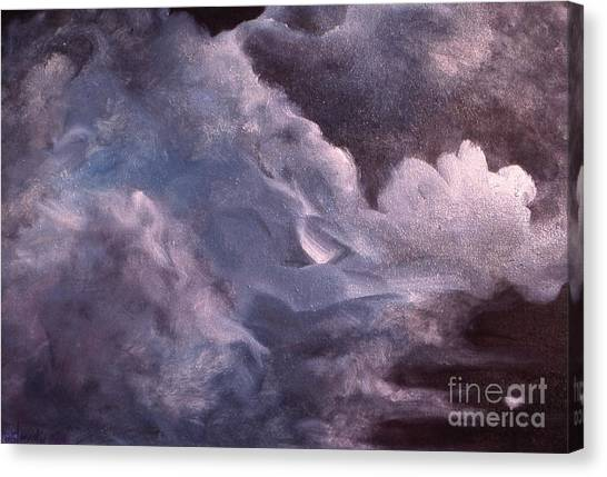 Evening Clouds Canvas Print