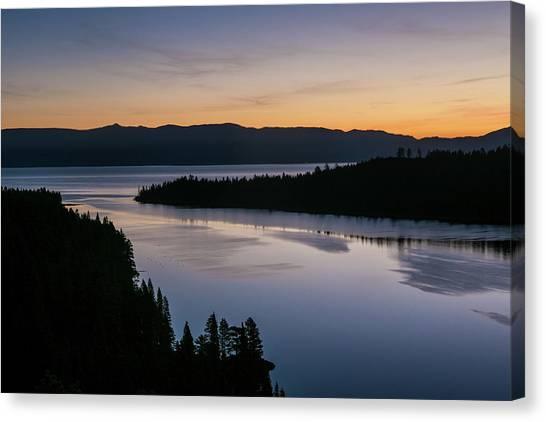Exploring Lake Tahoe Canvas Print