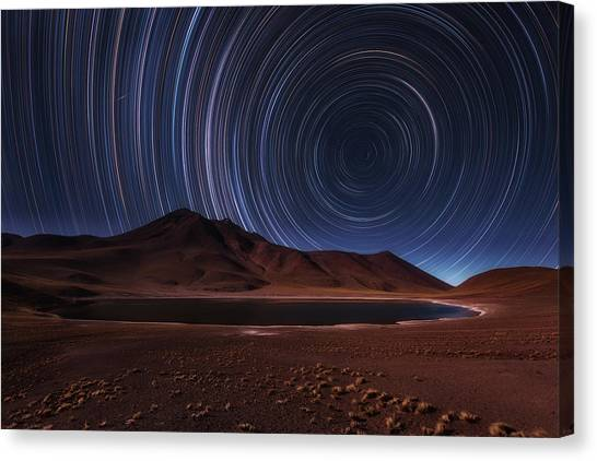 Atacama Desert Canvas Print - Eye In The Sky by Adhemar Duro