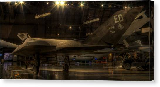 F-117 Stealth Fighter Canvas Print