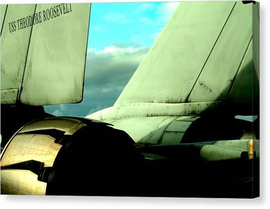 F-14 Tomcat Canvas Print by Maxwell Amaro
