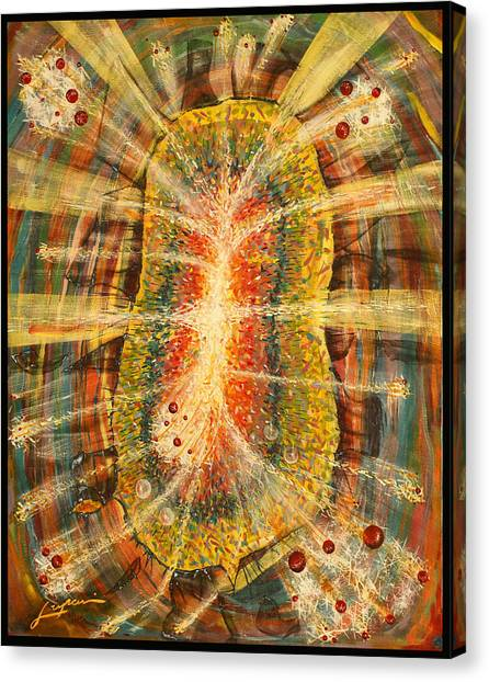 Fabric Of Life Canvas Print