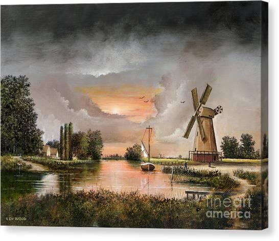 Fairhaven Mill Canvas Print