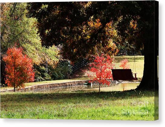 Fall Colors Canvas Print by Jinx Farmer