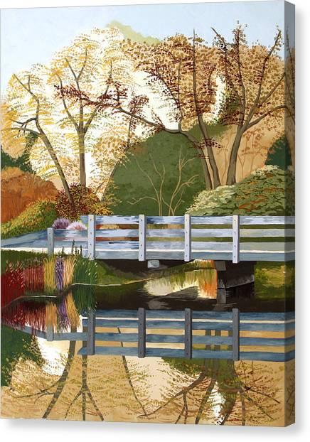 Fall Drive Canvas Print by Jennifer  Donald
