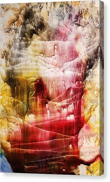 Underwater Caves Canvas Print - Fall by Kseniia Perkinson