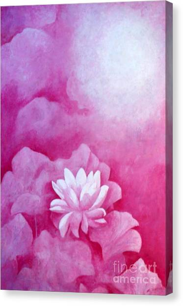 Fantasy Lotus Canvas Print