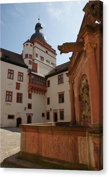 Festung Marienberg Canvas Print