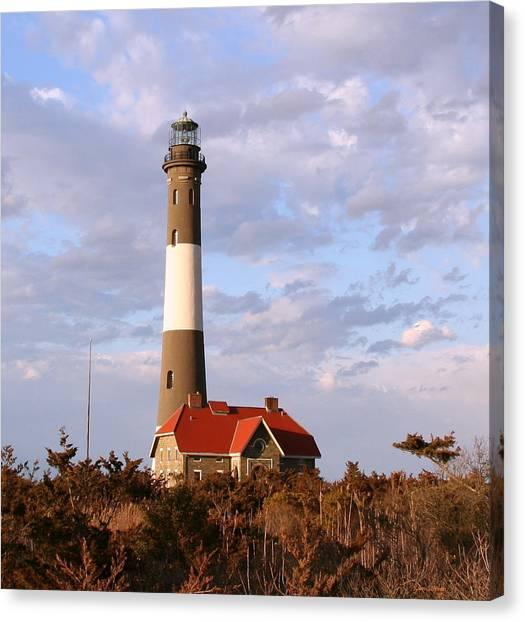 Fire Island Lighthouse Canvas Print