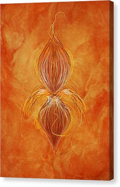 Fleur De Lys Canvas Print by Brenda Bryant
