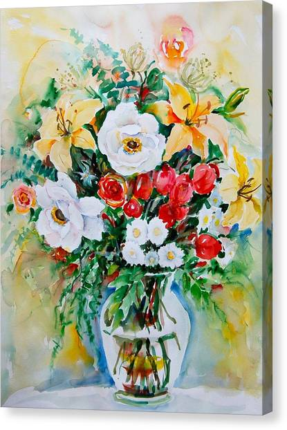 Floral Arrangement IIi Canvas Print