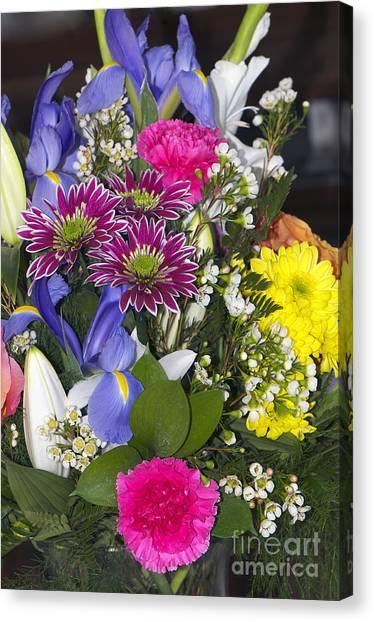 Floral Bouquet 2 Canvas Print