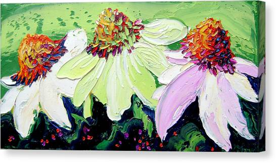 Flowers Canvas Print by Isabelle Gervais