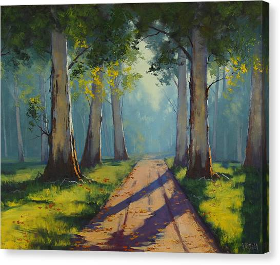 Traditional Canvas Print - Forest Gums by Graham Gercken