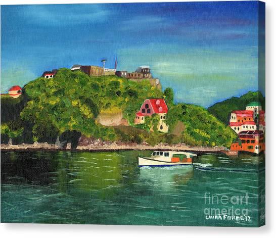 Fort George Grenada Canvas Print
