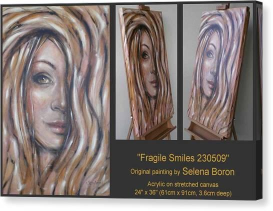 Fragile Smiles 230509 Canvas Print