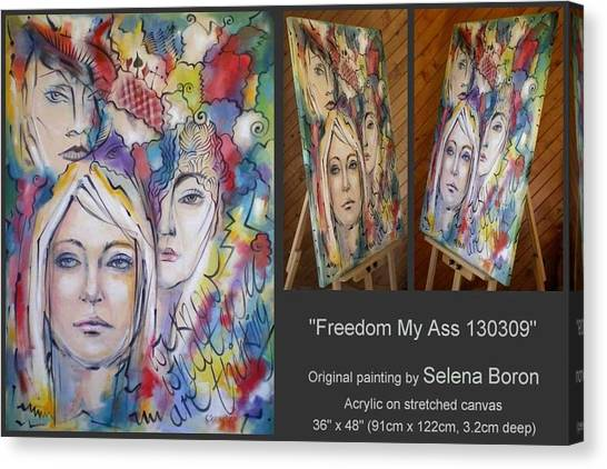 Freedom My Ass 130309 Canvas Print