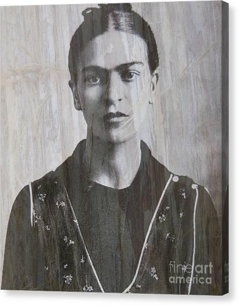 Frida In 1932 Canvas Print