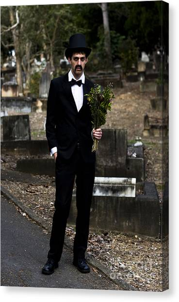 Resurrected Canvas Print - Funeral Attendee by Jorgo Photography - Wall Art Gallery