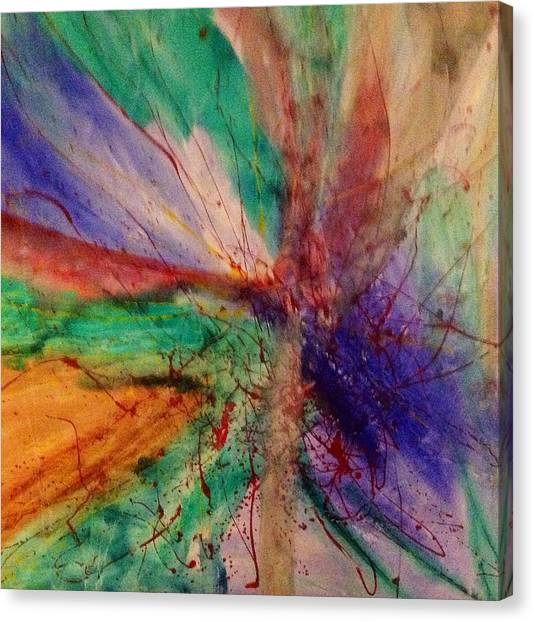 Fusion Canvas Print by Russell Simmons